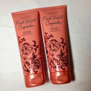 2 PINK VELVET CUPCAKE Ultra Shea Body Cream